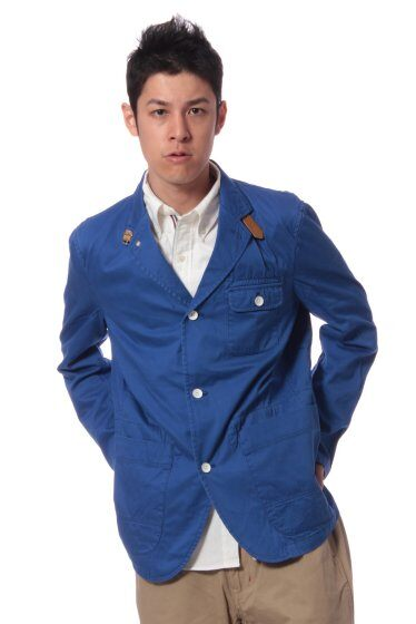 French Work Jacket 11010720302030: Blue