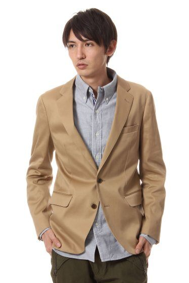 Chino 2-button Jacket 11010720702030: Beige