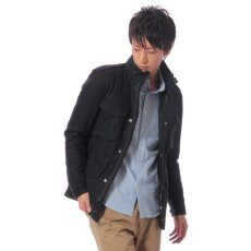 Wool M-65 Jacket 11011300300330: Navy
