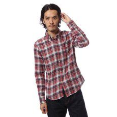 Twill Double Cloth Buttondown Shirt 11050640008030: Red