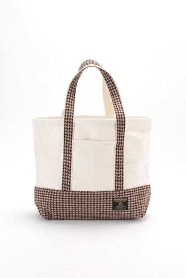 Harris Tweed Tote Bag 11092300000030: Camel