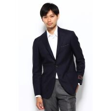 Edifice William Halstead Wool Blazer 12010320010230: Navy
