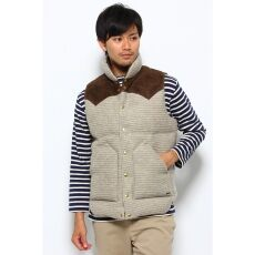 Rocky Mountain Featherbed + Side Slope + Edifice Down Vest 12011310625930: Grey