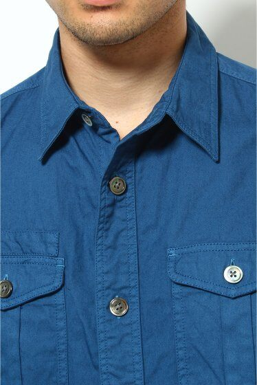 7/10 Sleeve Karsey Boy Scouts Shirt 12051300010010: Navy