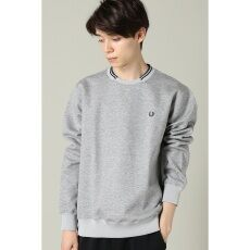 【FRED PERRY】tipped trim sweat